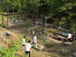 淀城跡公園③20160821